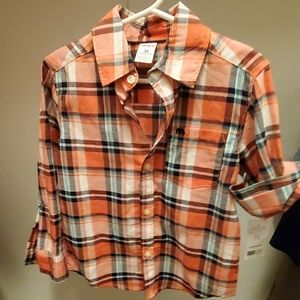 NWT Carter's Button Down